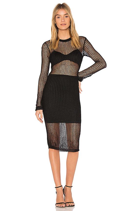 NBD Farren Dress in Black