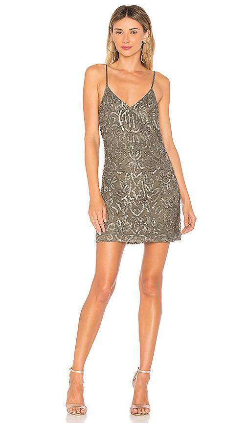 NBD Athena Dress in Charcoal