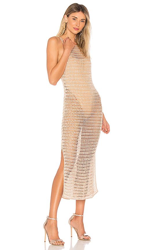 NBD Ashanti Dress in Tan