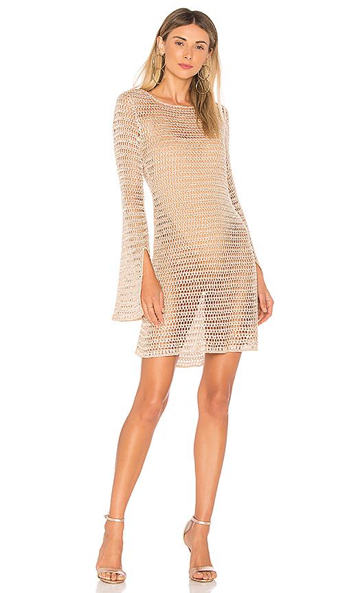 NBD Lucy Dress in Tan