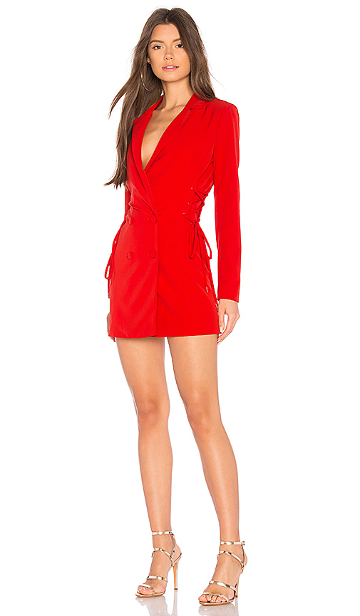 NBD Brave Dress in Red. - size L (also in M,S,XS, XXS)