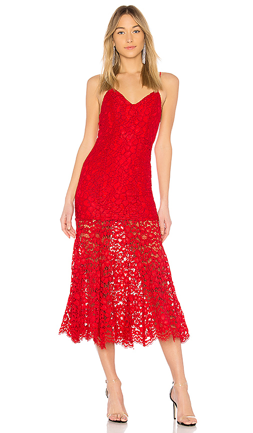 NBD Brielle Dress in Red