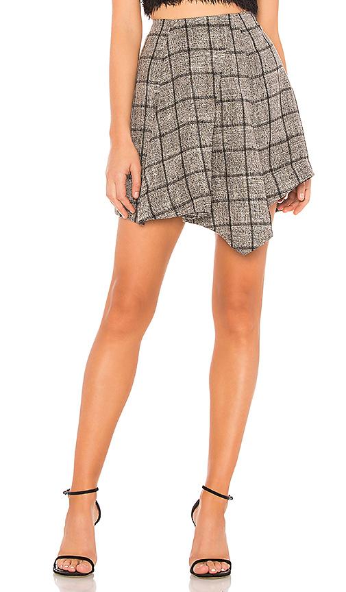 NBD | NBD Bynes Mini Skirt In Gray. - Size L (Also In XXS,XS,S,M) | Goxip