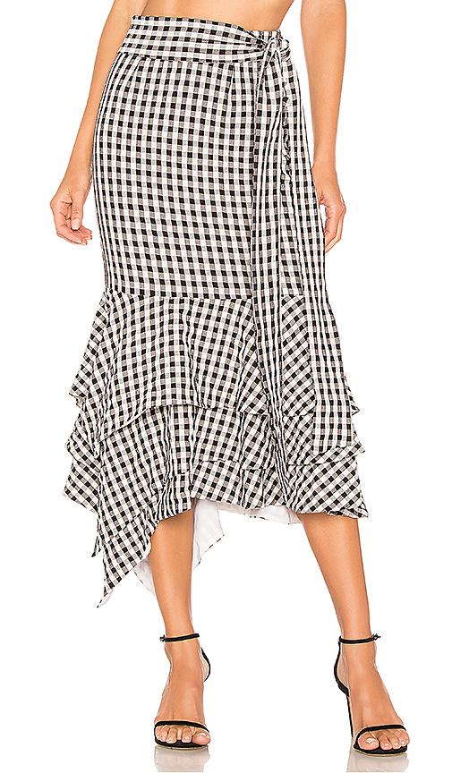 NBD | NBD Ayesha Midi Skirt In Black. - Size XL (Also In XXS,XS,S,M,L) | Goxip