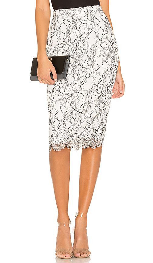 NBD | NBD Marissa Midi Skirt In White. - Size XL (Also In XS,S,M,L) | Goxip
