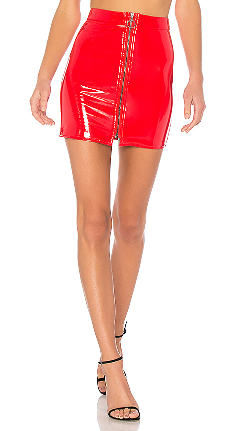 NBD Vanna Skirt in Red. - size L (also in M,S,XS, XXS)