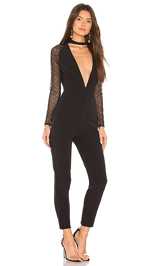 NBD Don't Need Nobody Jumpsuit in Black. - size L (also in M,S,XS, XXS)