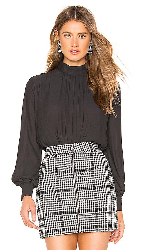 NBD | NBD Elizabeth Bodysuit In Black. - Size XL (Also In XXS,XS,S,M,L) | Goxip