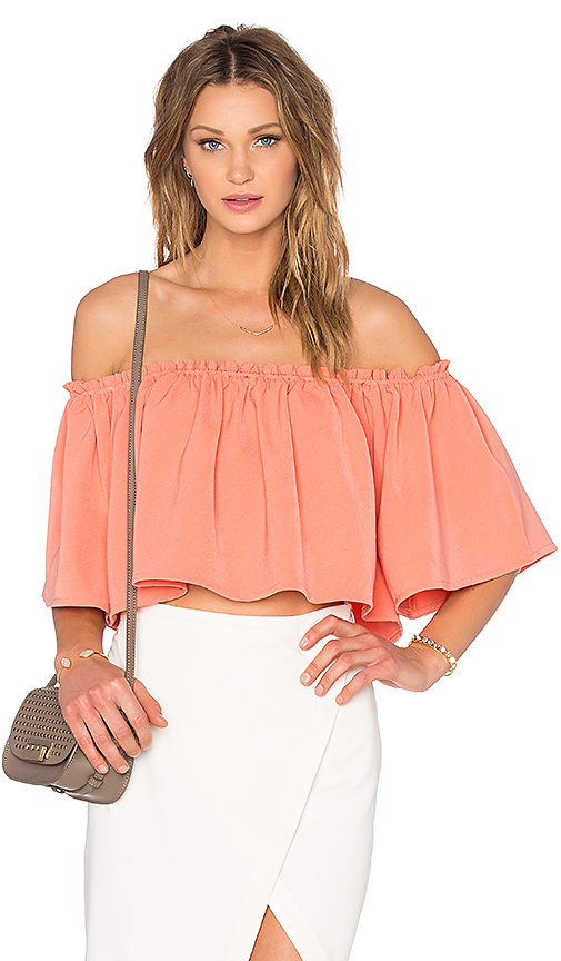 NBD x REVOLVE No Type Top in Peach