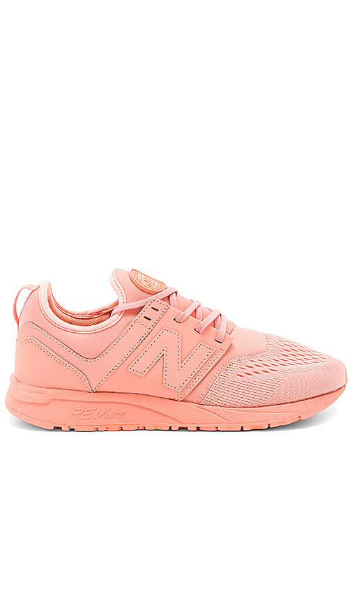 New Balance MRL247 in Coral. - size 11 (also in 8,9,9.5)