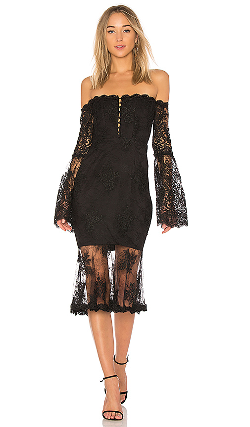 NICHOLAS Octavia Dress in Black