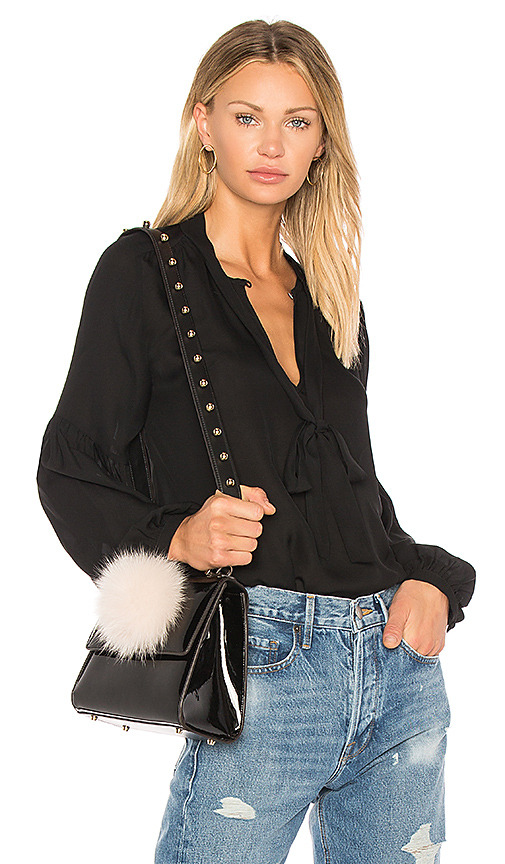 NILI LOTAN Abbeline Blouse in Black