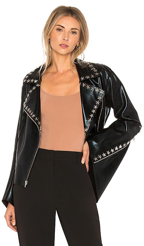 Norma Kamali x Revolve Gang Jacket in Black