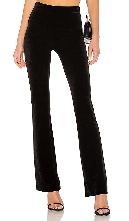 Norma Kamali Boot Pant in Black. - size S (also in M)