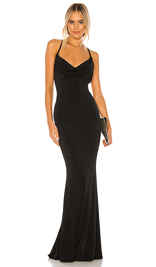 Nookie The Hustle Maxi Dress in Black