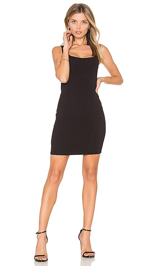 Nookie Taylor Mini Dress in Black