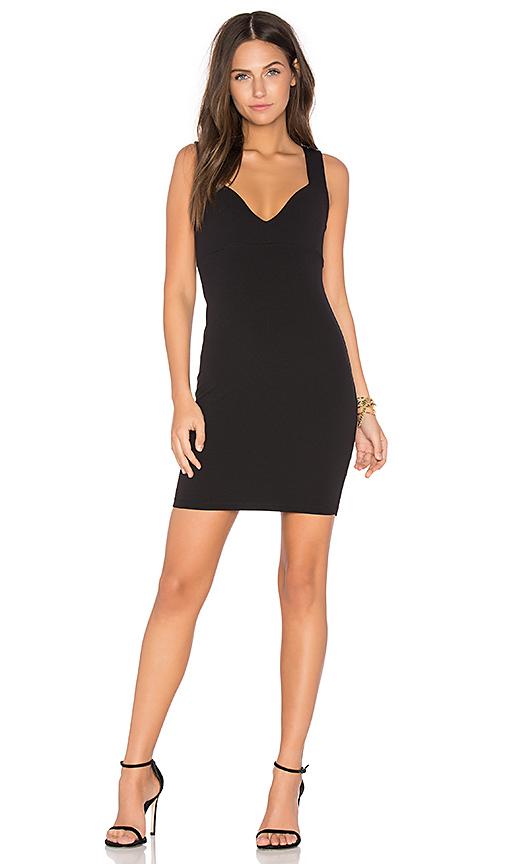 Nookie Demi Mini Dress in Black