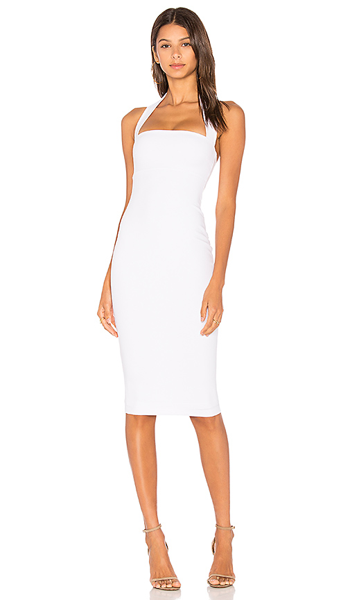 Nookie Boulevard Halter Dress in White