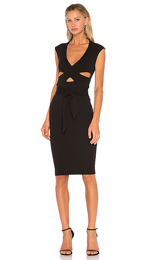 Nookie Miami Midi Dress in Black