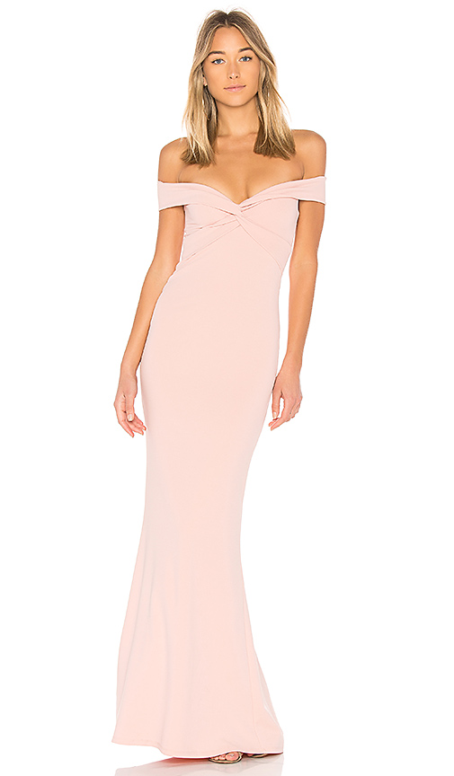 Nookie Dolly Gown in Blush
