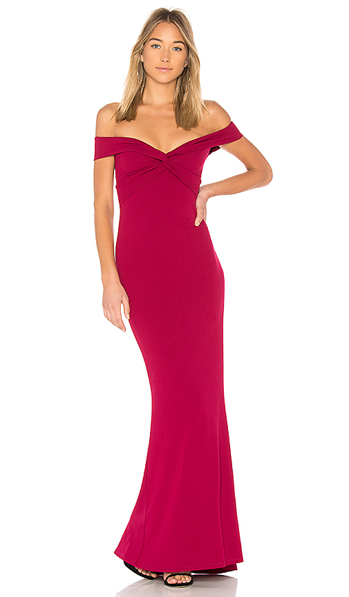 Nookie Dolly Gown in Red