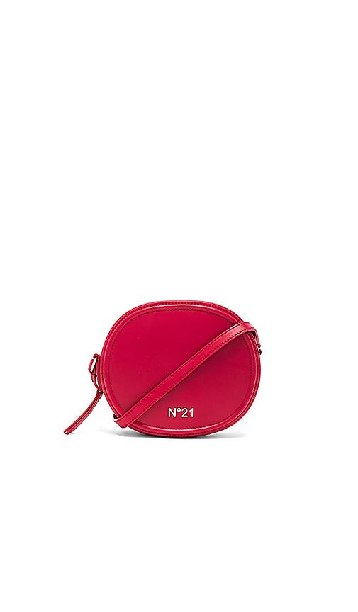 No 21 Circle Small Crossbody Bag in Red
