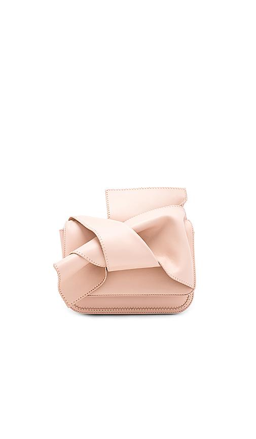 No 21 Bow Shoulder Bag in Blush