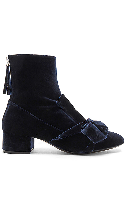 No 21 Knot Bootie in Navy