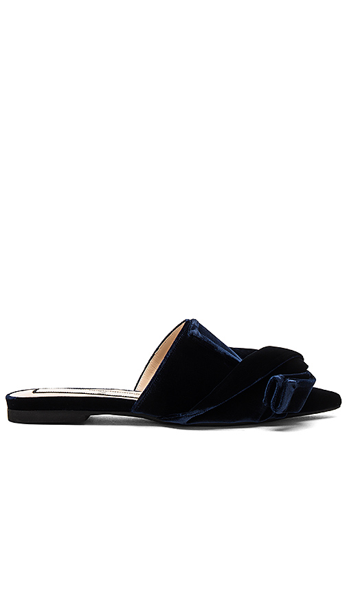 No 21 Small Knot Slide in Navy
