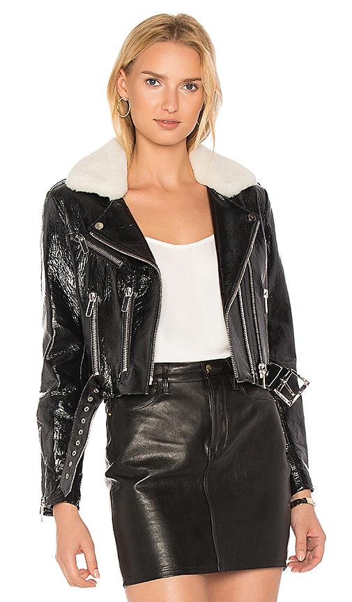 NOUR HAMMOUR Mayet Jacket in Black