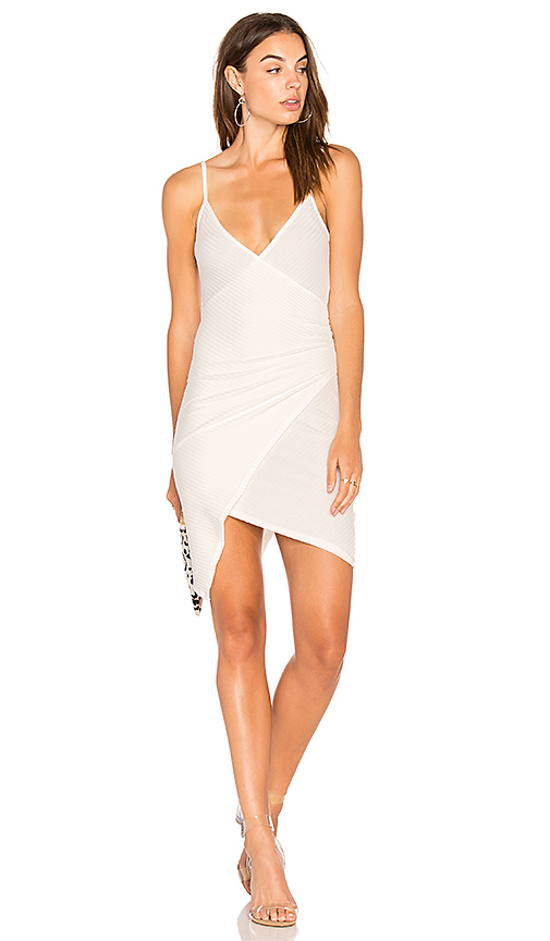 NYTT Cami Wrap Dress in White. - size M (also in S)