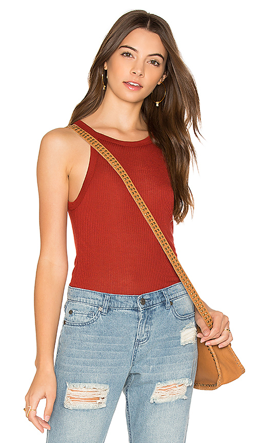 Obey Barbados Tank in Red