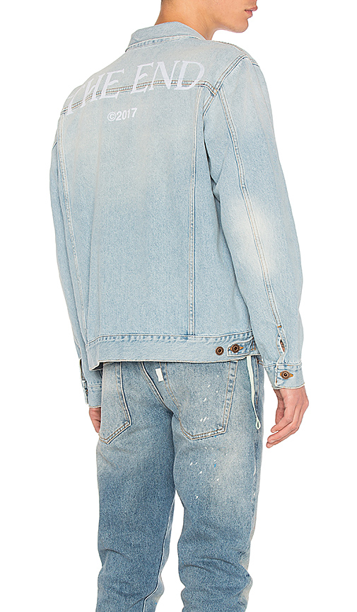 OFF-WHITE Scorpian Denim Jacket. - size L (also in XL)
