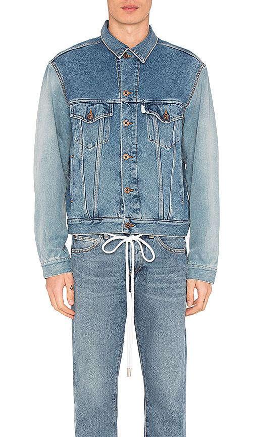 OFF-WHITE Denim Jacket. - size S (also in M,XL)
