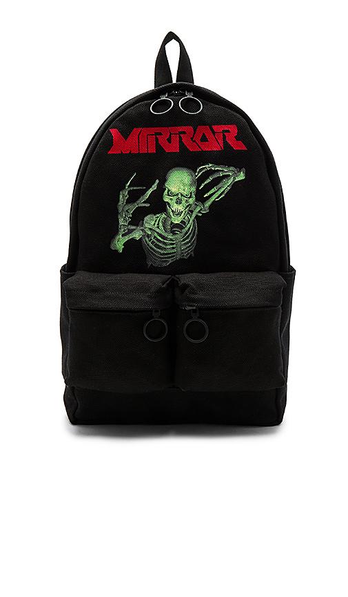 OFF-WHITE Skull Backpack in Black.