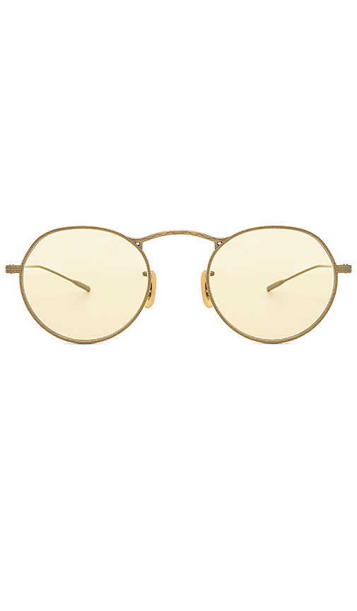 Oliver Peoples M-4 30th in Metallic Gold