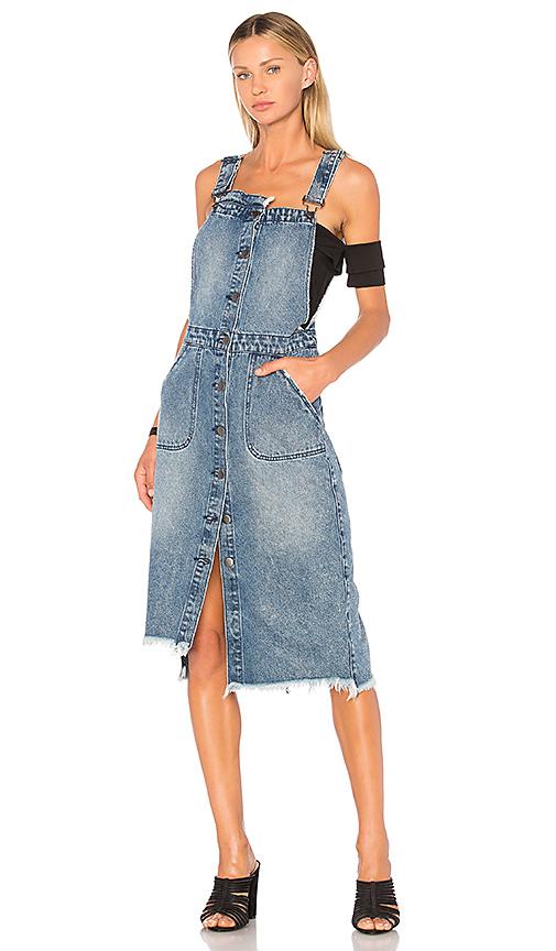 One Teaspoon Dungaree Dress