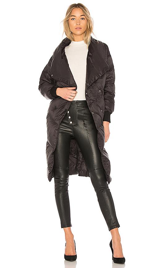 ON PARLE DE VOUS Francine Jacket in Black