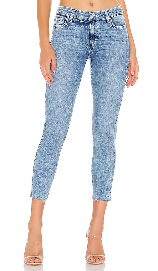 Paige Verdugo Raw Hem Crop Skinny Jeans In Aloha Modesens