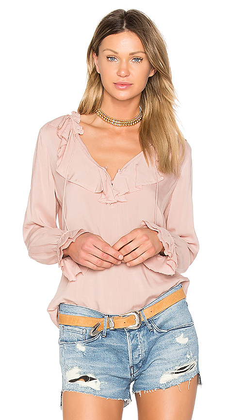 PAIGE Fauna Blouse in Pink