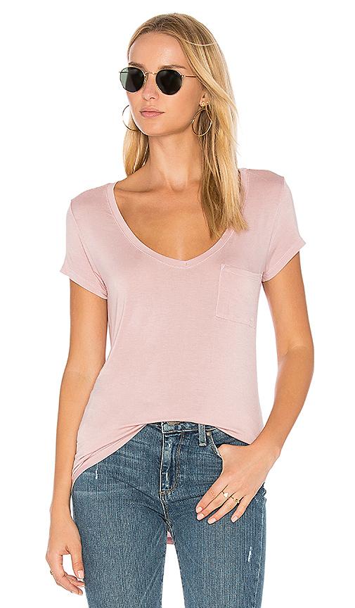 PAIGE Lynnea Tee in Pink