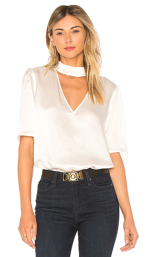 PAIGE Cateline Top in White