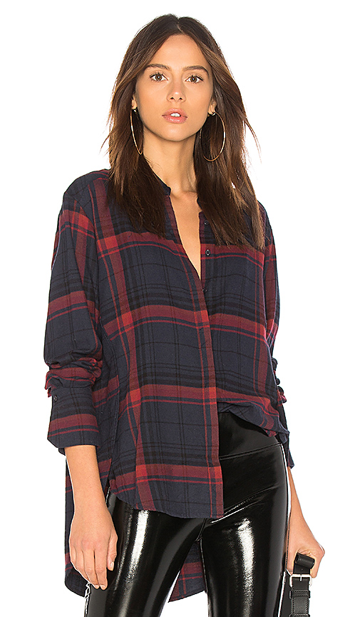 PAIGE Clemence Shirt in Red