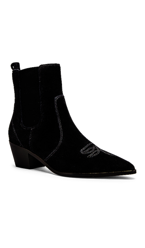 PAIGE Willa Booties in Black