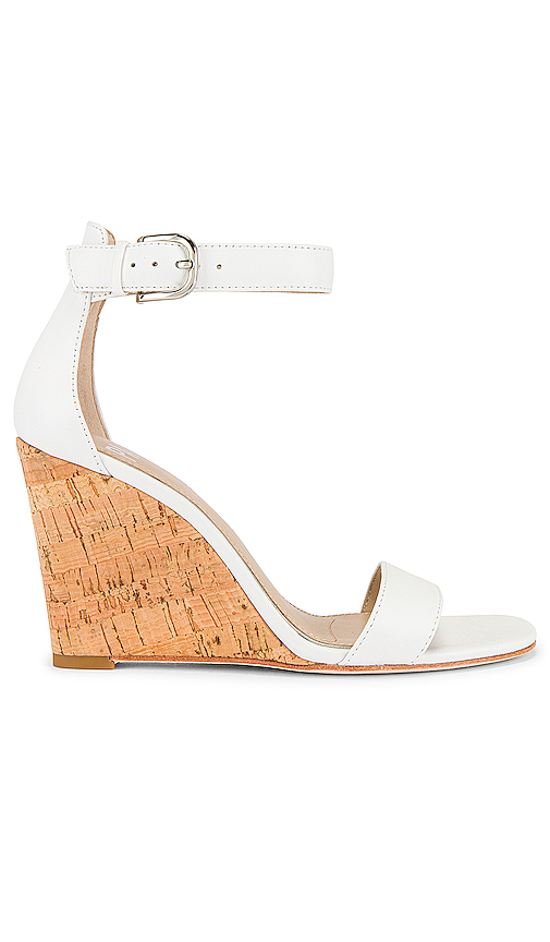 Paige PAIGE WILLOW WEDGE IN WHITE.