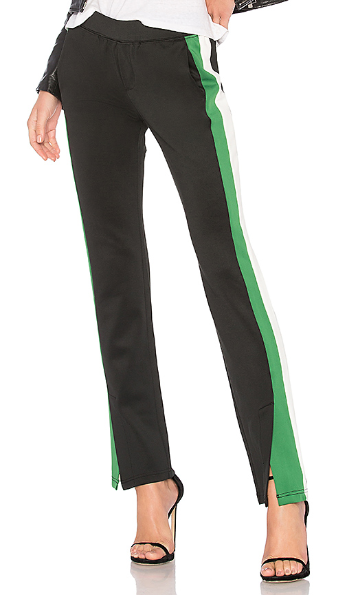 Pam & Gela Microscuba Trackpant in Black. - size XS (also in L,M,S)