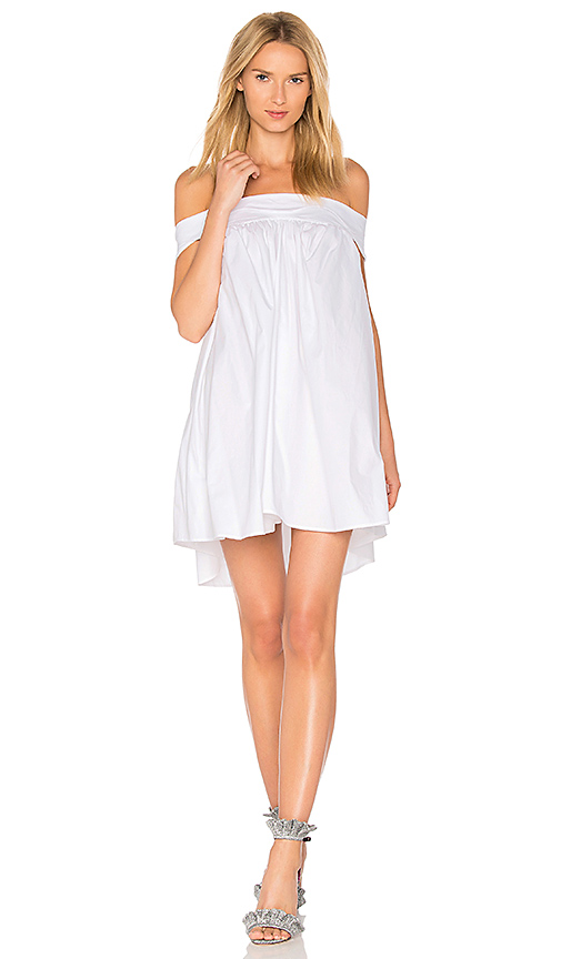 Paper London Wave Dress in White