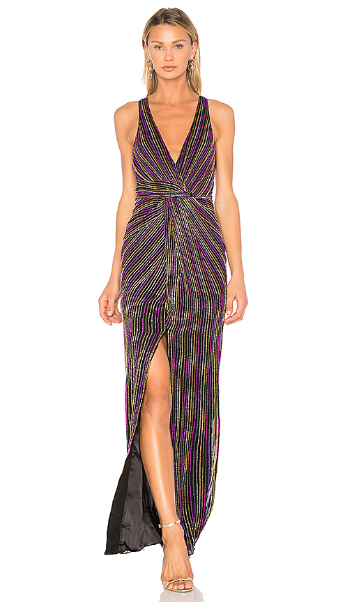 Parker Black Monarch Gown in Black