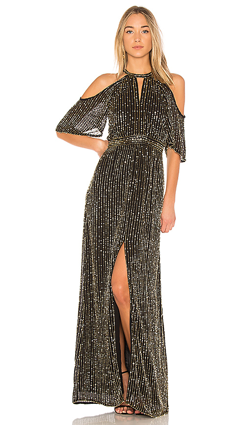Parker Black Amy Gown in Black