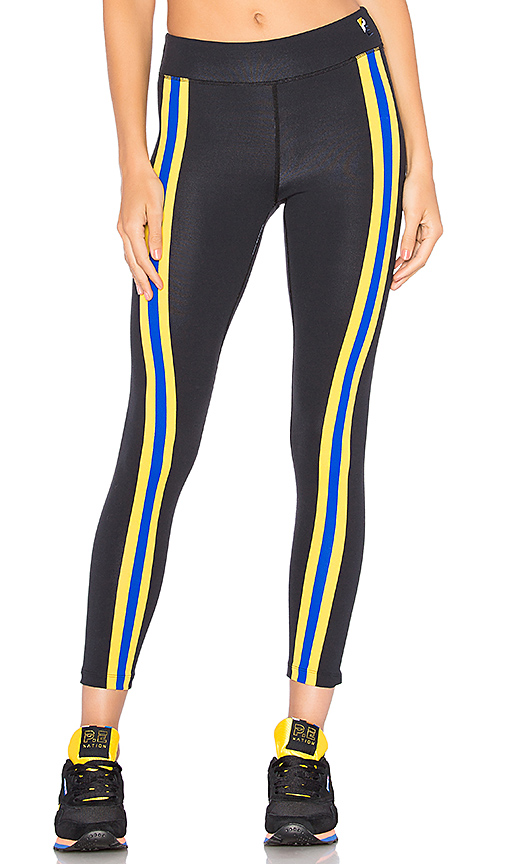 P.E Nation Double Innings Legging in Black. - size L (also in M,S,XS)